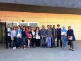Alumnat dels cursos de català visiten el Consell Comarcal, l'estació d'autobusos i els Mossos d'Esquadra a Amposta