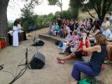Cloenda dels clubs de lectura de Montornès i Montmeló al jaciment Mons Observans