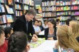 L'autor de jocs Toni Serradesanferm, a El Club del joc de Nou Barris