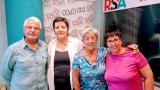 Participants de l'edició del Voluntariat per la llengua d'enguany al programa Via Directa de Ràdio Sant Andreu