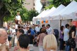 L'Oficina de Català visita els estands de la 7a Fira del Comerç, Artesania i Entitats de Montmeló