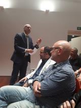 L'escriptor Genís Sinca parla sobre Pompeu Fabra a Tortosa
