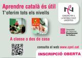 Ja es poden fer inscripcions als cursos de català per a adults del tercer trimestre