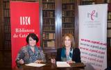 La Biblioteca de Catalunya i el Consorci per a la  Normalització Lingüística signen un conveni de col·laboració per al foment cultural