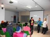 Acte de presentació del programa Voluntariat per la llengua a la Sénia
