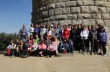 Caminada a la Torrassa amb voluntaris, aprenents i alumnes de català de Llinars i Cardedeu