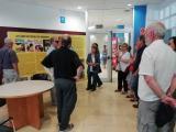 El club de lectura de Gràcia s'acomiada a l'antiga Editorial Bruguera