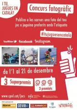 """El concurs fotogràfic, principal novetat de la campanya """"I tu, jugues en català?"""""""