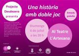 El Projecte <em>Desdezero</em> presenta a Falset 'Una història amb doble joc'
