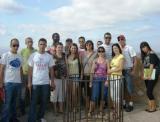 Visita d'alumnes de català a la catedral i al castell de la Suda de Tortosa