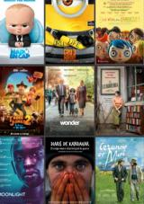 115 pel·lícules doblades en català i 91 en VOSC amb el suport del Departament de Cultura al llarg de 2017
