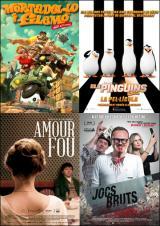 'Els pingüins de Madagascar', 'Mortadel·lo i Filemó', 'Amour fou' i 'Jocs bruts' s'estrenen avui en català