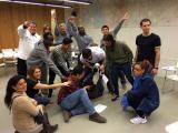 Alumnes de català participen al taller de Converses Musicals