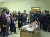 Celebració de les festes i presentació del voluntariat lingüístic als cursos de català de Móra d'Ebre