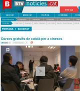 Els cursos de català per a xinesos del CNL Barcelona, a BTV