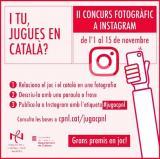 """El II Concurs fotogràfic """"I tu, jugues en català?"""" premia l'originalitat"""