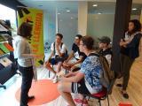 El VxL present a la trobada del voluntariat social de Badalona al Badiu Jove