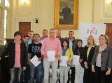 El CPNL i el SOC lliuren els certificats dels cursos de català a Tarragona i a Reus