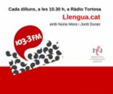 Finalitza la temporada de 'Llengua.cat', espai lingüístic a Ràdio Tortosa
