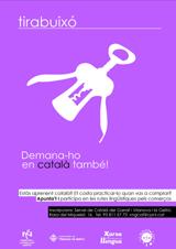 Els aprenents de català de Vilanova i la Geltrú fan pràctiques lingüístiques als establiments col·laboradors