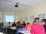 85 alumnes dels cursos d'ocupació laboral de Vilanova i la Geltrú fan sessions sobre bones pràctiques d'atenció als clients