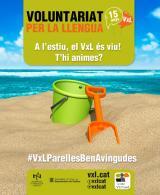 A l'estiu, el Voluntariat per la llengua és viu!