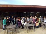 Les parelles lingüístiques d'Olot i Figueres visiten la Cooperativa de la Fageda