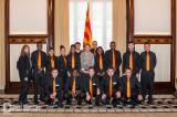 La presidenta del Parlament rep els alumnes del Curs de Llengua i Entorn de Salt
