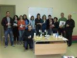 Cloenda del curs de llenguatge administratiu a Móra d'Ebre