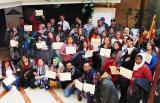 205 alumnes reben els certificats del Programa de Reincorporació al Treball 2015