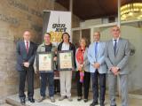 El restaurant L'Absis i el Bar Campus guanyen el Premi Ganxet Llengua