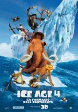 L'Associació CineBaix i el Servei Local de Català de Sant Feliu de Llobregat ens porten la pel·lícula d'animació <em>Ice Age 4: la formació dels continents</em>