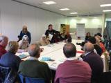Segona sessió de formació inicial del Voluntariat per la llengua a Alcanar