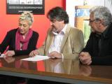 Signatura del conveni de col·laboració amb la Federació d'Associacions de Comerciants de Terrassa (FACT)
