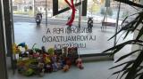 Recollida solidària de joguines a la delegació d'Horta-Guinardó