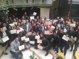 235 alumnes reben els certificats del Programa de Reincorporació al Treball 2016