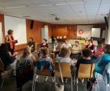 Inici del club de lectura de la Biblioteca Municipal de l'Arboç