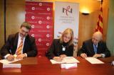El Consorci de Comerç, Artesania i Moda de Catalunya (CCAM), la Confederació de Comerç de Catalunya (CCC) i el Consorci per a la Normalització Lingüística (CPNL) signen un conveni de col·laboració