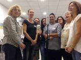 Taller de doblatge per a participants en el Voluntariat per la llengua a Lloret de Mar