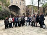 Membres del VxL del Prat de Llobregat van fer la Ruta Pompeu Fabra
