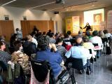 Una conferència de Neus Nogué inaugura l'Any Fabra al Prat de Llobregat