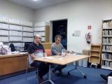 Jordi Llavina enlluerna a Tarragona parlant de Vinyoli