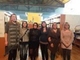 Alumnat del Servei Comarcal de Català del Montsià participa a l'acte del Dia de la Llengua Materna a Amposta