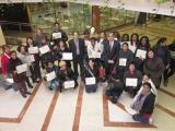 Lliurament de diplomes d'aprofitament als alumnes del Programa Reagrupament i Treball 2011