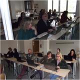 Sessió de recursos lingüístics a Internet per als alumnes de Suficiència 1 de Sant Celoni