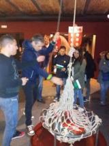 Un grup de l'Eixample visita el Museu d'Història de Catalunya