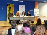 Yvonne Griley inaugura els cursos de català 2012-2013 de l'Aula de Llengua i el Voluntariat per la llengua de Tàrrega