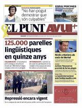 El diari El Punt Avui destaca en portada els 15 anys del Voluntariat per la llengua