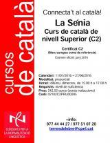 Curs de català de nivell superior (C2) a la Sénia