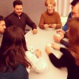Tastet de jocs a la biblioteca del Poblenou-Manuel Arranz